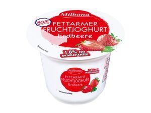 Milbona Fettarmer Fruchtjoghurt