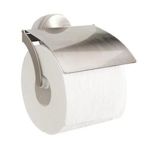 Toilettenpapierhalter Edelstahlfarben
