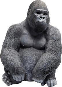 Dekotier Gorilla Schwarz