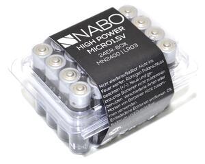 Batterie Nabo 1,5 Volt 24er Box
