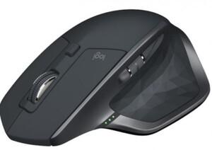Logitech Maus MX Master 2S ,  Kabellos, USB/Bluetooth, schwarz