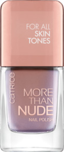 Catrice Nagellack More Than Nude Nail Polish Brownie Not Blondie! 09