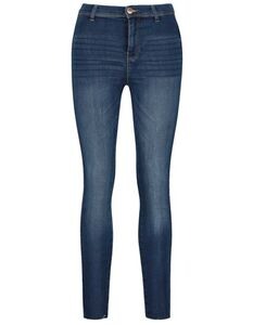 Damen High Waist Skinny Fit Jeans