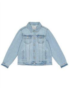 Mädchen Jeansjacke mit Brusttasche