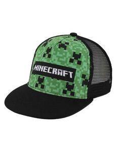 Jungen Basecap mit Minecraft-Print