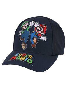 Jungen Basecap mit Super Mario-Print