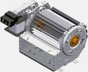 Trial TAS09B-004-00 Querstromlüfter Motor rechts 230 V/AC