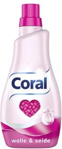Coral Wolle & Seide Feinwaschmittel Flüssig 1,1 ltr 22 WL