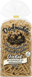 Dorfmühle Oberschwäbische Land-Nudeln Dinkel Spiralen 500G