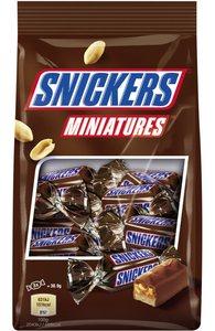 Snickers Miniatures Schokoriegel 150 g