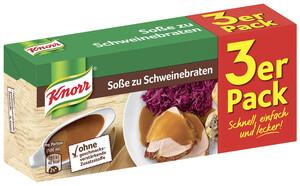 Knorr Soße zu Schweinebraten 3x 26 g