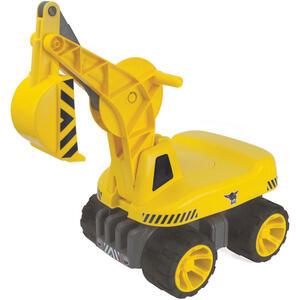 BIG Digger big power-worker maxi , 800055811 , Gelb, Schwarz, Dunkelgrau , Kunststoff , 32x30x73 cm , 004500011602