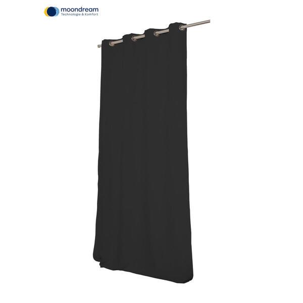 XXXLutz Verdunkelungsvorhang verdunkelung 145/260 cm , R11-1-01-0713-17 , Anthrazit , Textil , 145x260 cm , Satin , beliebig kürzbar , 008600007201