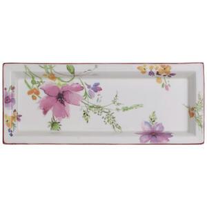 Villeroy & Boch Schale keramik fine china , 1016323846 , Multicolor , Blume , 23.6x9.7 cm , 0034071298