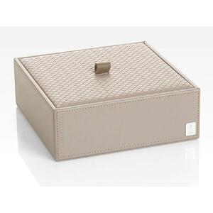 Joop! Box mit deckel , Joop! Homeline , Grau , Kunststoff , 20.5x7.5x20.5 cm , 007645011303