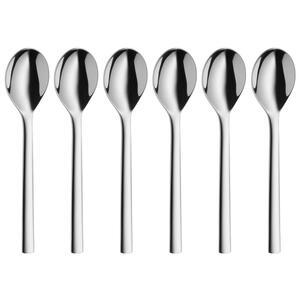 WMF Löffelset , 1291656046 , Edelstahlfarben , Metall , 13.5 cm , poliert , 0037310820