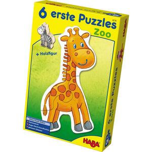 Haba Puzzle zoo , 4276 , Multicolor , Holz , Buche , 16x5.5x24 cm , 005423049705