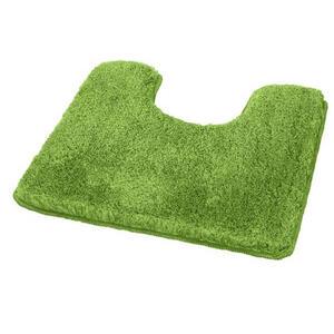 Kleine Wolke WC-VORLEGER Grün 55/3/55 cm , Relax 5405 615 129 , Textil , 55x3x55 cm , für Fußbodenheizung geeignet, rutschhemmend , 003342094133
