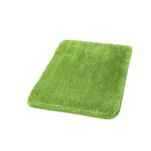 Kleine Wolke BADTEPPICH Grün 55/3/65 cm , Relax 5405 615 539 , Textil , Uni , 55x3x65 cm , für Fußbodenheizung geeignet, rutschhemmend , 003342103433