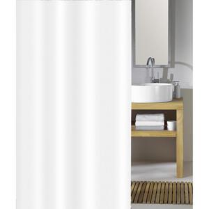 Kleine Wolke Duschvorhang weiß 180/200 cm , Phönix , Kunststoff , 180x200 cm , wasserundurchlässig , 003342050801