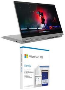 "IdeaPad Flex 5 (82HS0077GE) 35,56 cm (14"") 2 in 1 Convertible-Notebook platinum grey inkl. 365 Famil"