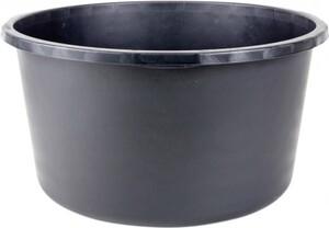 Mörtelkübel 90 l Kunststoff, rund, schwarz, 4 Griffe, L-Skala