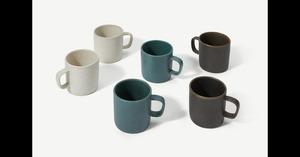 Araluen 6 x Tassen, Mehrfarbig - MADE.com