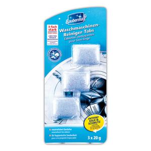Saubermax Waschmaschinen-Reiniger-Tabs