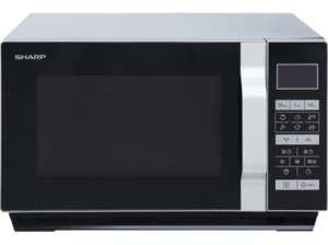 SHARP R-760S Mikrowelle (900 Watt)