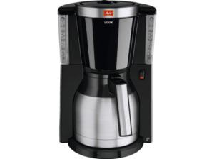 MELITTA 1011-19 Look IV Therm Selection Filterkaffeemaschine Schwarz/Edelstahl