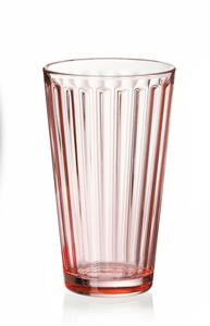 Ritzenhoff & Breker Trinkglas Lawe 400ml rosa