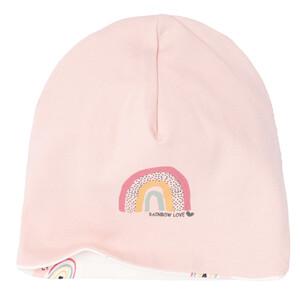 Baby Wendemütze mit Regenbogen-Motiv
