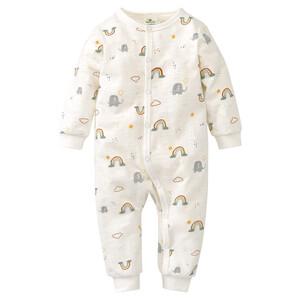 Baby Schlafanzug mit Elefanten allover