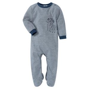 Newborn Schlafanzug mit Zebra-Motiv