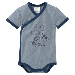 Newborn Wickelbody mit Tier-Motiven