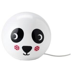 ÄNGARNA Tischleuchte, LED, Pandamuster
