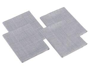 Gözze Geschirrtücher Karo und Streifen 4er Pack, 50 x 70 cm