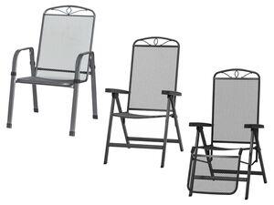 SIENA GARDEN Sessel »Elda Plus«, mit Stahlgestell