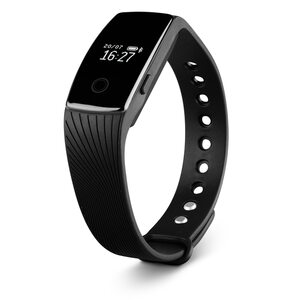 MEDION LIFE® E1000 Fitnessarmband, OLED Display, flexibles Armband, Schrittzähler, Kalorienverbrauchsmesser, Schlafüberwachung