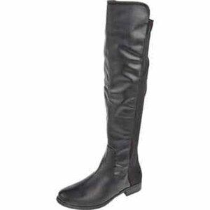 Claudia Ghizzani Overknee Stiefel Damen schwarz