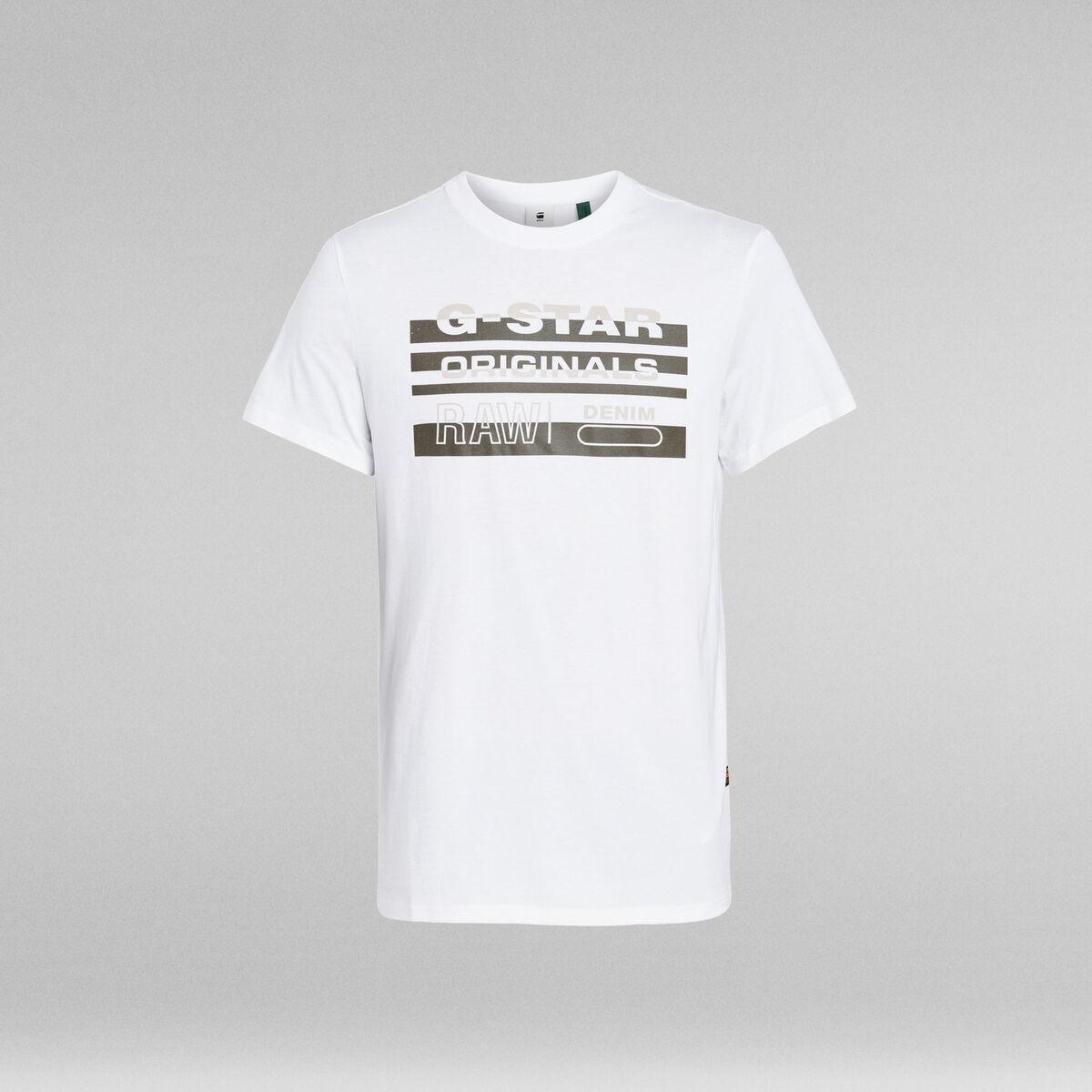 Bild 2 von Originals Stripe Logo T-Shirt