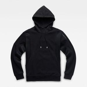 Moto Mesh Hooded Sweatshirt
