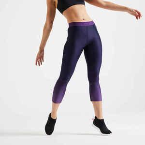 7/8-Leggings Fitness bordeaux
