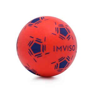 Schaumstoffball Mini Futsal Größe1 rot/blau