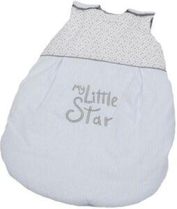 Sommer-Schlafsack My Little Star, blau, 70 cm