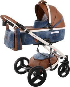 Kombi-Kinderwagen K-One, Blue Jeans blue denim