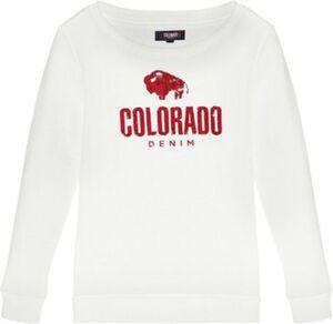 Sweatshirt ENNA , Organic Cotton weiß Gr. 170/176 Mädchen Kinder