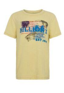 Million X Kids Jungen T-Shirt AMERICAN T-Shirts gelb Gr. 152 Jungen Kinder