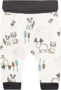 Baby Softbundhose , Organic Cotton offwhite Gr. 86 Jungen Kleinkinder