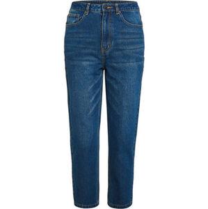 MANGUUN Jeans, 7/8-Länge, Boyfriend Fit, Waschung, für Damen